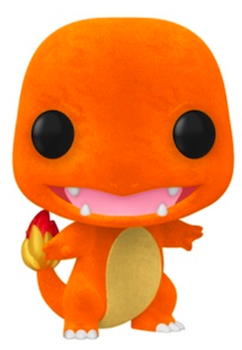 Funko Pop! Games Charmander Flocked
