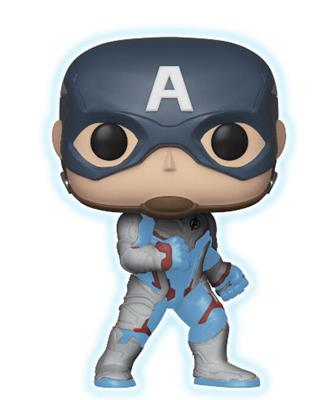 Funko Pop! Marvel Captain America (Glow)