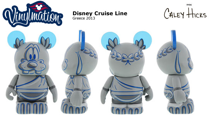 Vinylmation Open And Misc Disney Cruise Line Greece 2013