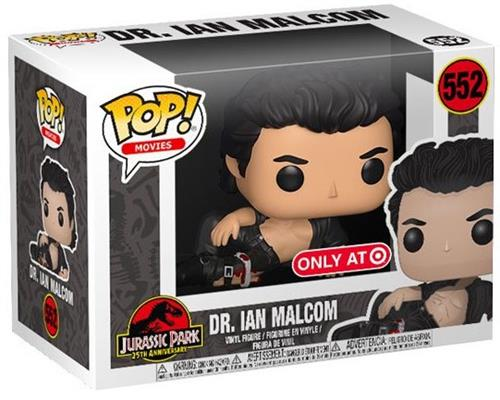 Funko Pop! Movies Dr. Ian Malcolm (Injured) Stock