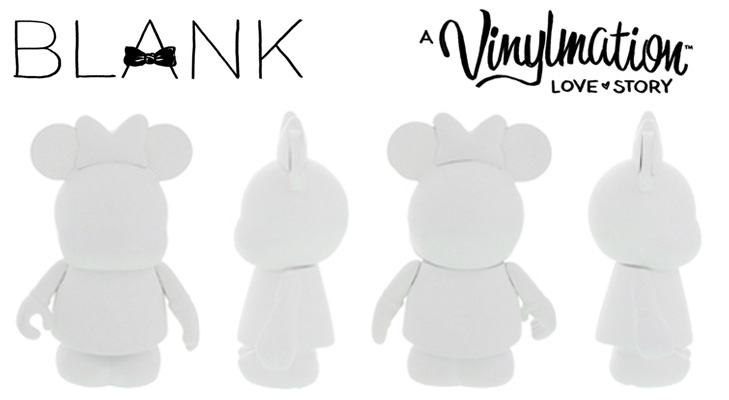 Vinylmation Open And Misc BLANK Minnie