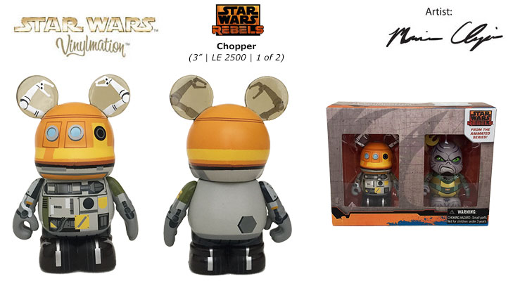 Vinylmation Open And Misc Star Wars Rebels Chopper