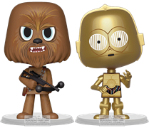 Vynl All Chewbacca + C-3PO