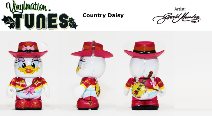 Vinylmation Open And Misc Tunes Country Daisy Duck