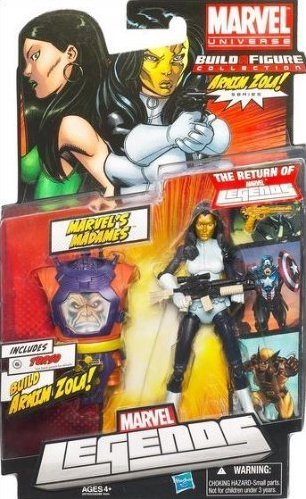 Marvel Legends Arnim Zola Series Madame Masque (Torso Variant)