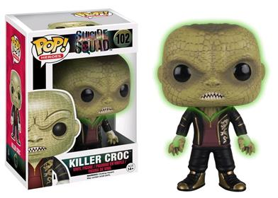 Funko Pop! Heroes Killer Croc (Suicide Squad) (Glow in the Dark) Stock