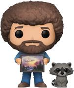 Funko Pop! Television Bob Ross (w/ Raccoon)